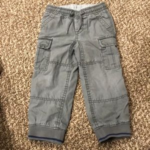Baby Gap Lined Cargo Pants